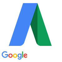 adwords white logo